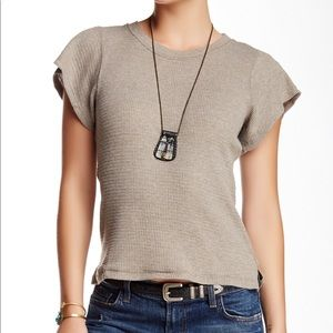 FREE PEOPLE FLUTTER T-SHIRT